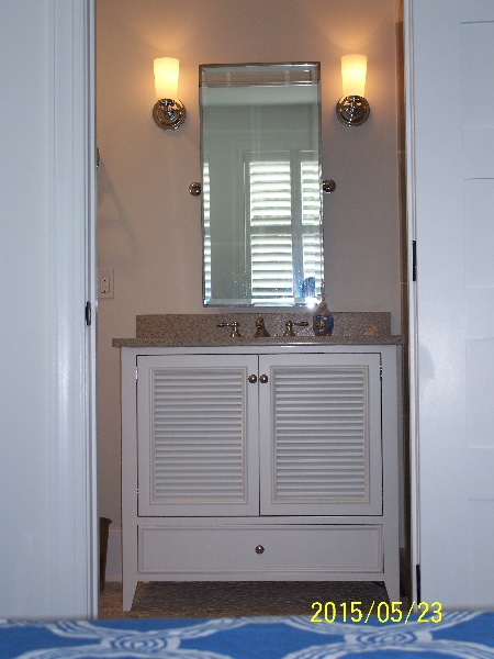 Custom Bath Vanity on the Eastern Shore