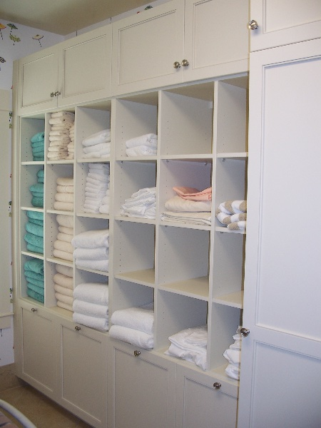 Custom Residential Wood Closet Storage