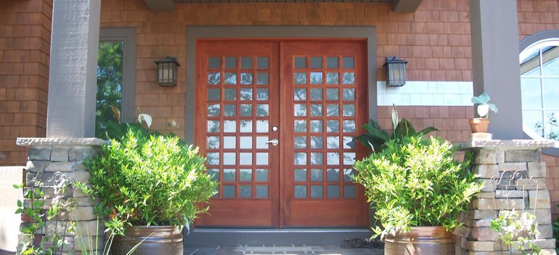 Custom Residential Wood Doors