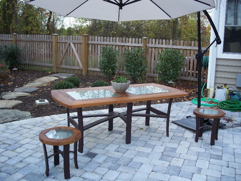 Custom Residential Wood Patio Furniture