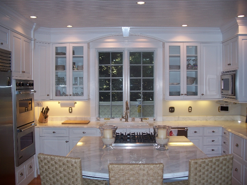 Custom White Kitchen in Delaware