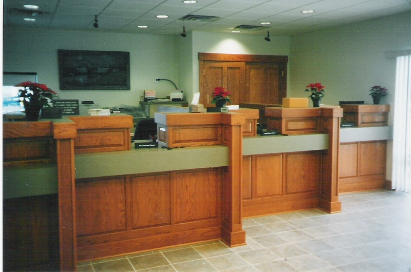 Custom Office Cabinetry in Ocean City, MD