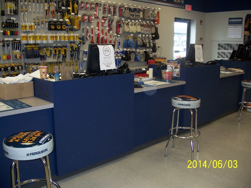 Custom Retail Store Checkout Counter